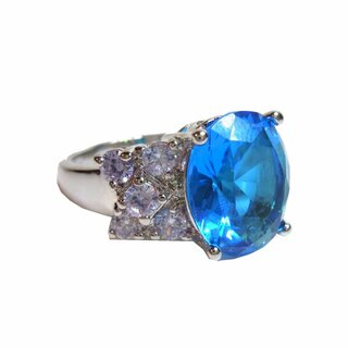 AUSVERKAUF - Party Fingers - Deep Blue Sea Cocktail Ring RG 55