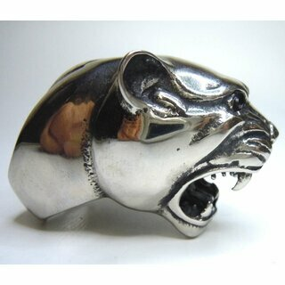 Hammer of Steel - sehr schwerer Panther Cougar Jaguar Football Ring